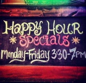 Main Event Happy Hour Mon-Fri 3-7pm