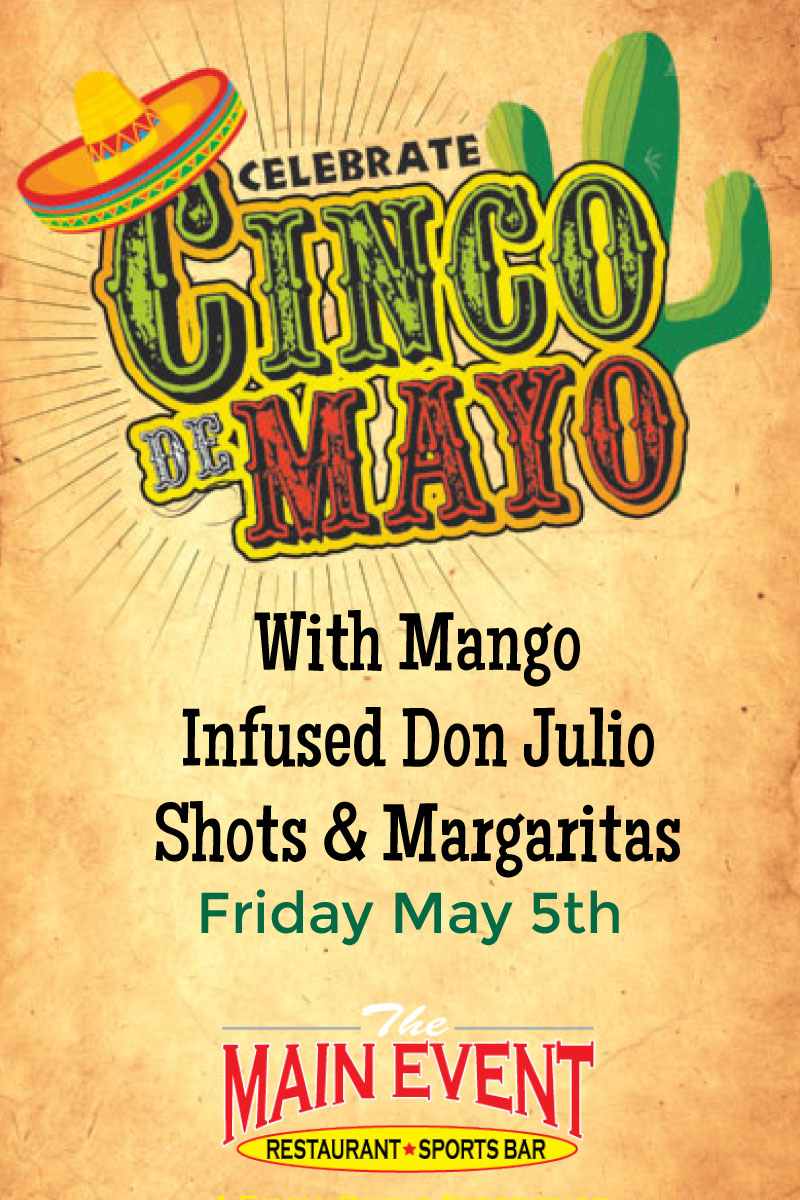 Cinco De Mayo Friday May 5th
