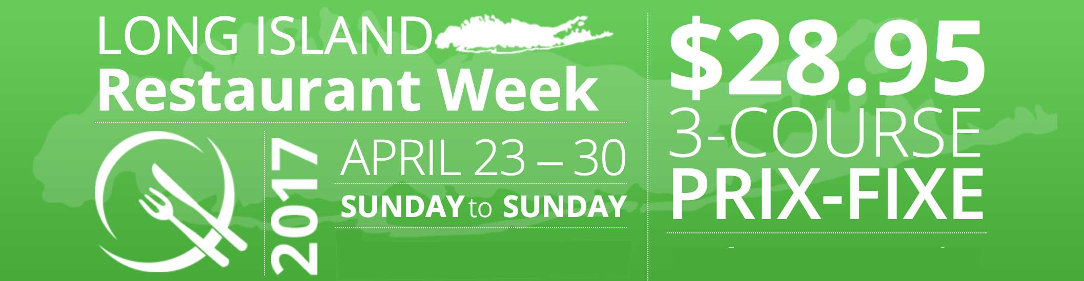Long Island Restaurant Week April 23-30