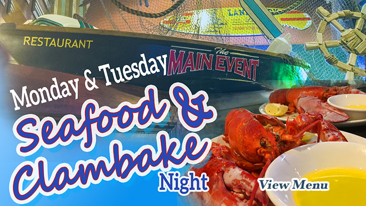Seafood and Clambake Night
