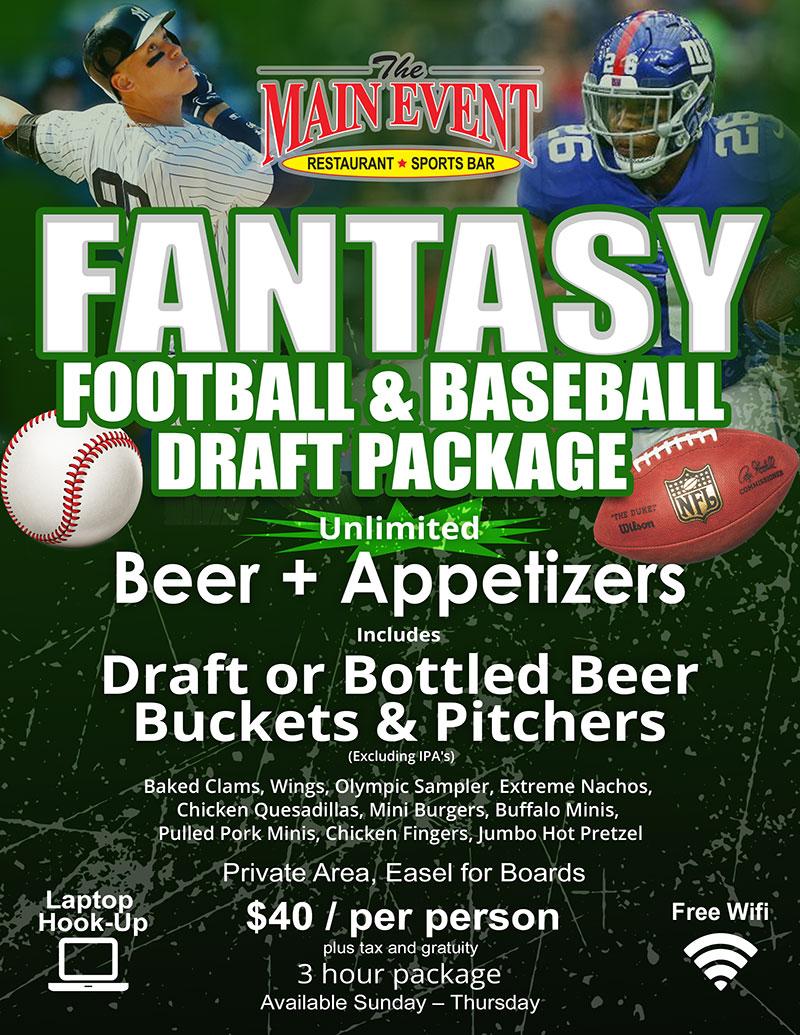 Fantasy Draft Package